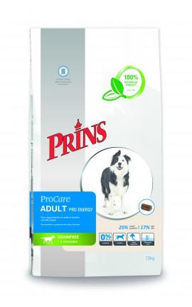 Croquettes sans céréales chien Prins ProCare Adult Pro Energy