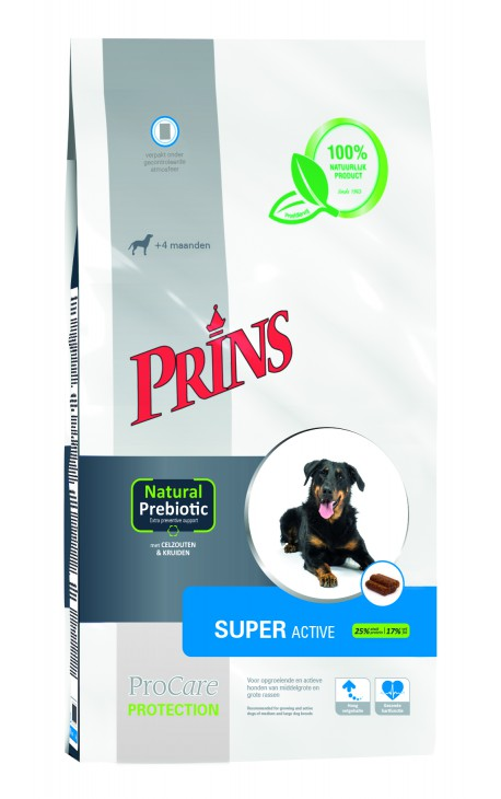 Croquettes grand chien actif Prins ProCare Protection Super Active