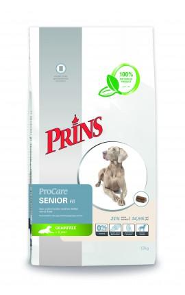 Croquettes sans céréales chien senior Prins ProCare Senior Fit