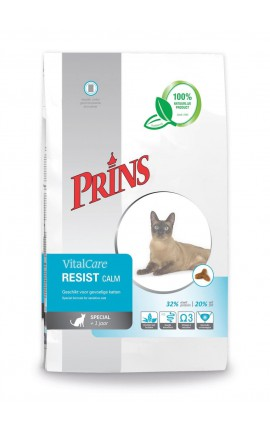 Croquettes chat sensible Prins VitalCare Resist Calm