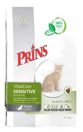 Croquettes hypoallergéniques chat Prins VitalCare Sensitive Hypoallergic