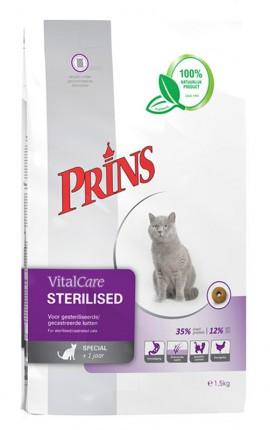 Croquettes chat stérilisé Prins VitalCare Sterilised