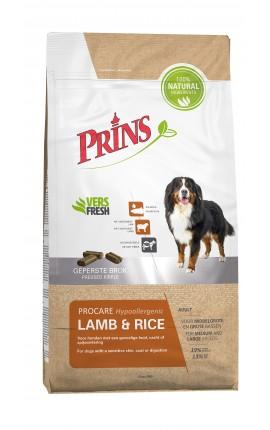 Croquettes hypoallergéniques pour chien Prins ProCare Lamb & Rice
